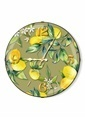 The Mia Duvar Saati - Limon Yeşil 35 Cm Renkli
